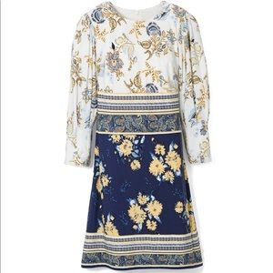 New Vince Camuto Mixed Print Dress